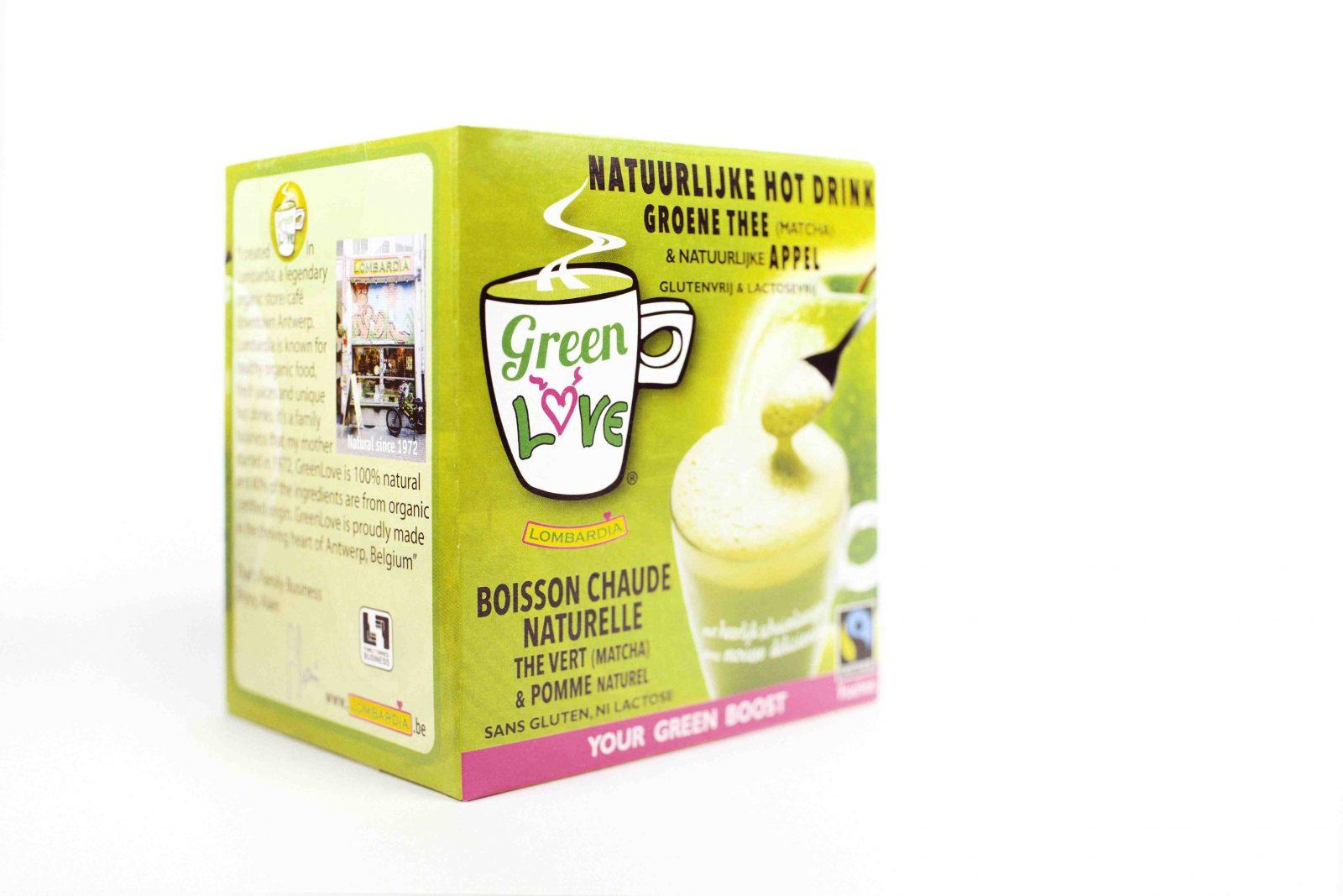 Lombardia Green Tea Appel