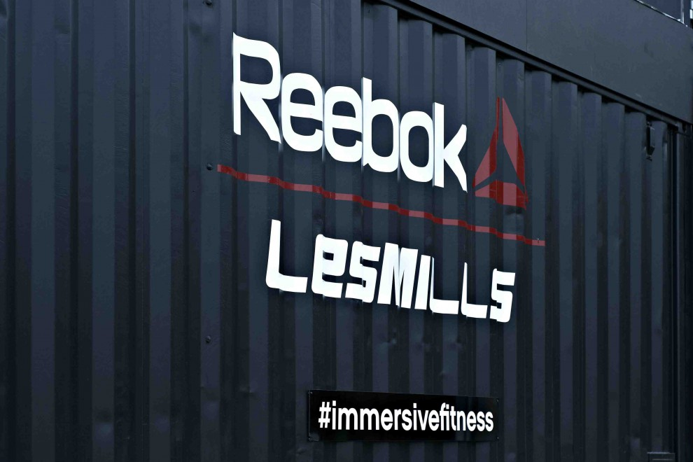 Immersive Fitness © Les Mills Reebok