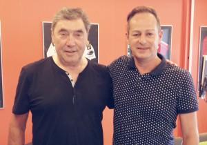 Eddy Merckx en Eddyt Mellaerts (c) www.vigogroup.eu